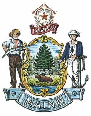 State of Maine logo