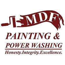 MDF Painting & Power Washing logo