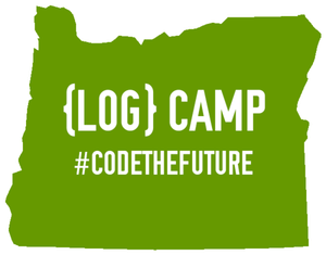 Log Camp logo