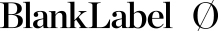 Blank Label logo