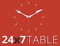 24x7Table logo