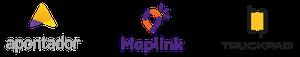 Apontador • Maplink • TruckPad logo