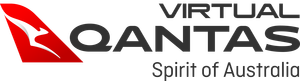 Qantas Virtual Group Infinite Flight logo